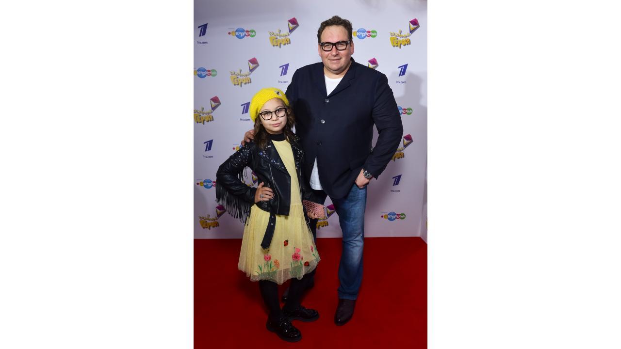 Станислав Дужников с дочкой