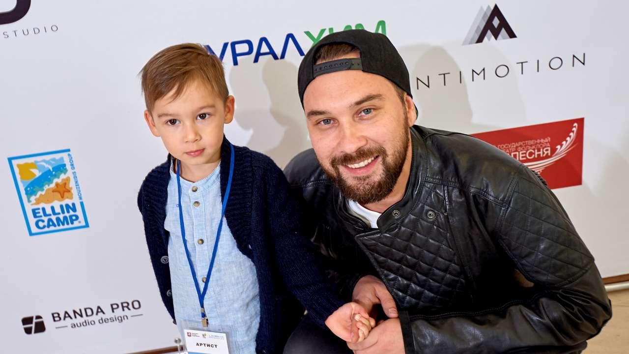 Андрей Шелков с сыном Иваном