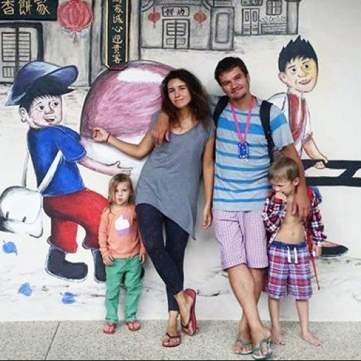 Марина Жемчужникова и ее семья