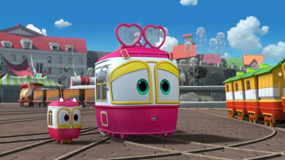 Роботы-поезда
