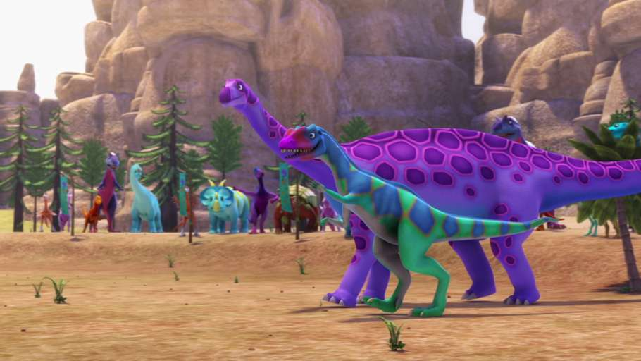 Поезд Динозавров3