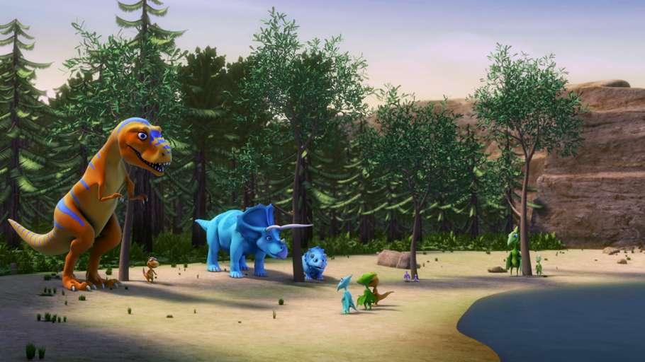 Поезд Динозавров6