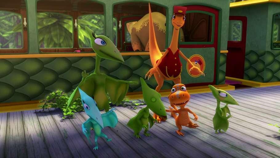 Поезд Динозавров8