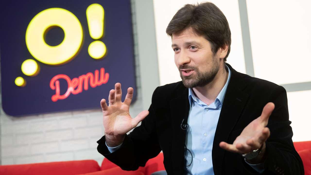 Руководитель отдела профориентации центра «Гуманитарные технологии» Кирилл Кузнецов