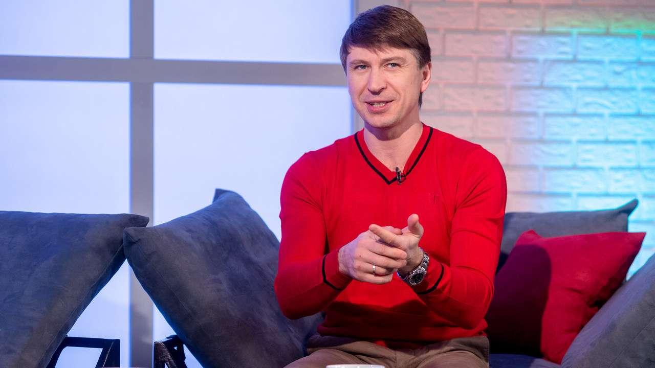 Олимпийский чемпион по фигурному катанию, телеведущий Алексей Ягудин