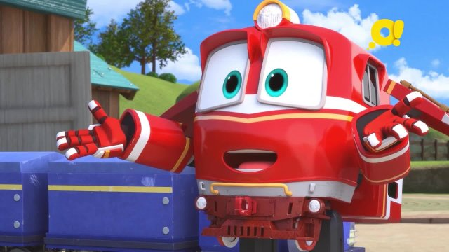 Роботы-поезда 10 серия