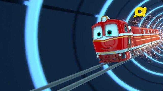 Роботы-поезда 7 серия