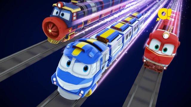 Роботы-поезда 6 серия