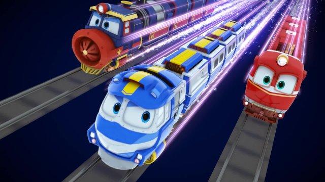 Роботы-поезда. Серия 11