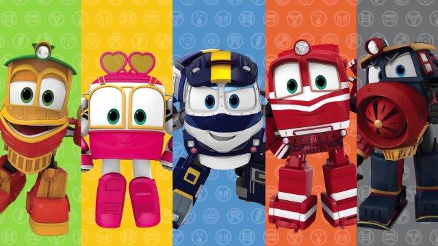 Роботы-поезда 20 серия